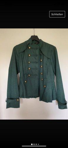 Grüne Leichte Jacke von Double Zero