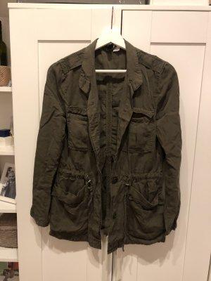 H&M Divided Blouson dark green-khaki