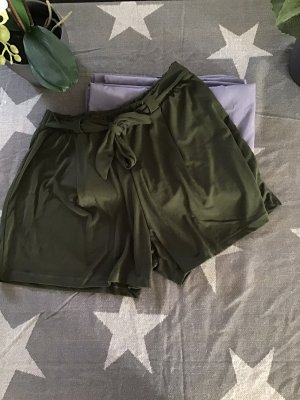 About You Shorts verde oscuro