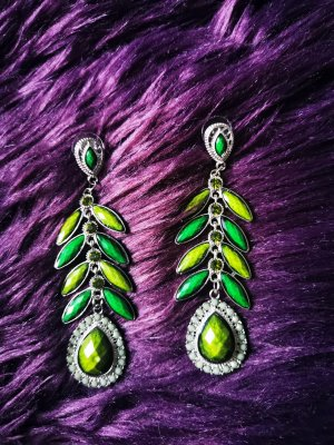 Dangle forest green-olive green