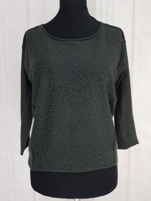 Expresso Jersey de lana verde oscuro