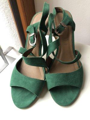 Grüne Sandale Hingucker Größe 40