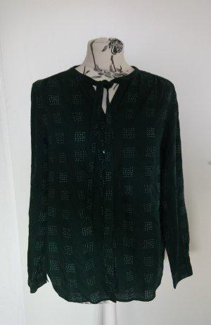 armedangels Camicetta a maniche lunghe verde-verde scuro