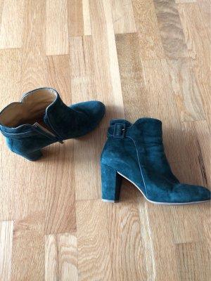Grüne Schuhe mit Absatz