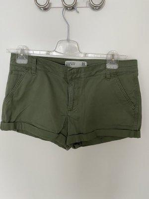 Grüne Shorts von Abercrombie & Fitch Gr. 40