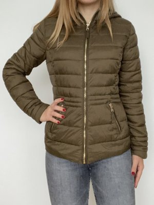 Reserved Quilted Jacket khaki