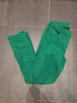 Grüne stretchjeans