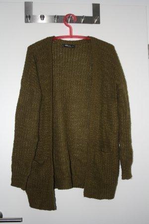 grüne Strickweste meliert von FB Sister Knitwear Gr. L