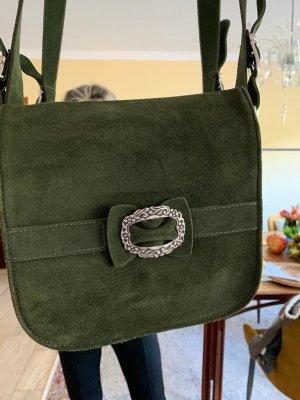 Grüne Tasche Trachten-Stil wie neu