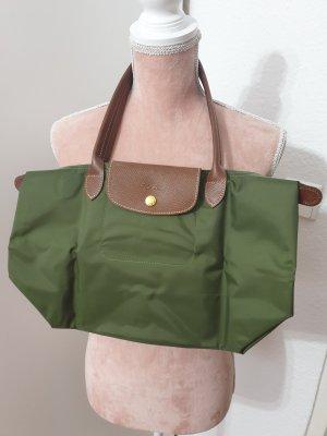 grüne Tasche von Longchamp