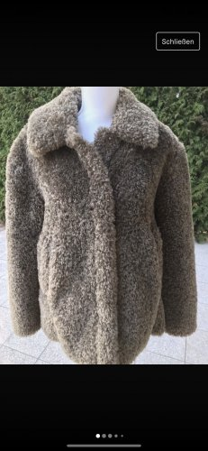 Greenstone Futrzana kurtka khaki