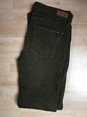 Grüne Tommy Hilfiger Jeans