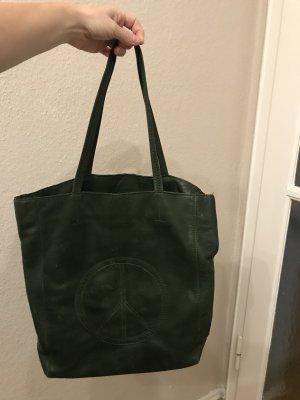 Zadig & Voltaire Shoulder Bag green grey-dark green
