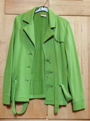 Street One Gilet long tricoté vert