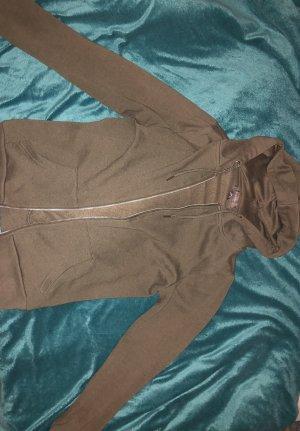 Primark Hooded Vest ocher