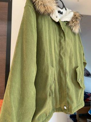 Fur Jacket multicolored mixture fibre