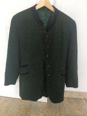 Blazer en laine vert forêt
