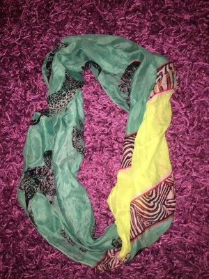 Grüner/gelber Schal
