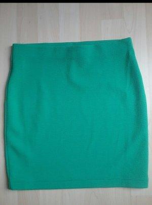 grüner H&M Schlauchrock