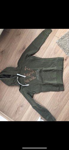 Grüner hoodie