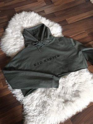 Primark Oversized Sweater green grey-dark green