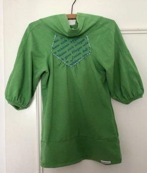 Blutsschwester Kraagloze sweater groen
