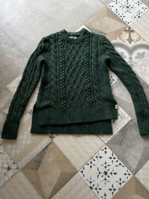 Abercrombie & Fitch Wool Sweater dark green-forest green