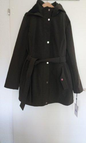 DKNY Płaszcz przeciwdeszczowy ciemnozielony-zielony