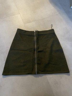 keine Jupe tricotée vert forêt-kaki