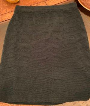 Lila Rose Stretch Skirt forest green-dark grey