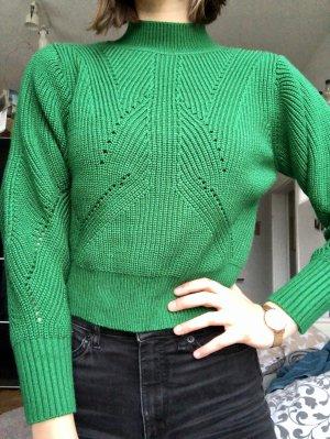 Grüner Strickpullover NEU