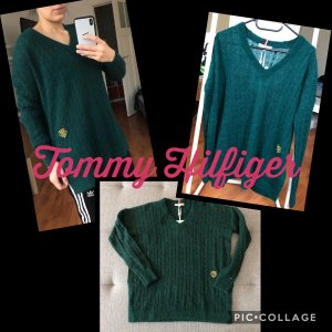 Grüner Tommy Hilfiger Alpaca Sweater S oversized
