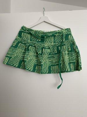 Topshop Miniskirt green