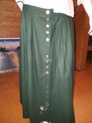 grüner trachtenrock alphorn gr.44