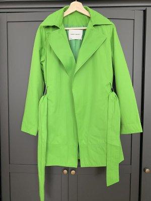 Grüner Trenchcoat von Zara