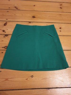grüner Zara Minirock Größe S