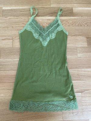 Grünes Abercrombie-Top mit Spitze! In Las Vegas gekauft!
