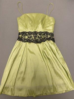 Suknia balowa zielony-czarny