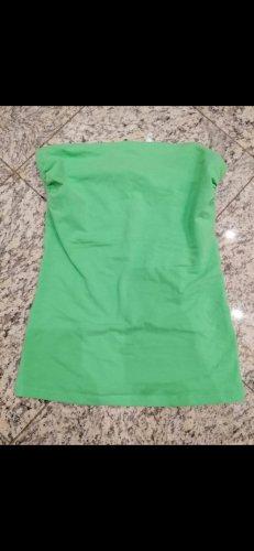 Terranova Haut bandeau vert-vert fluo