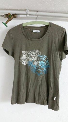 Grünes damen T-shirt