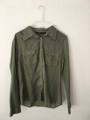 grünes Hemd/Bluse von oui aus Baumwolle