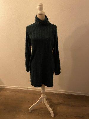 SheIn Swetrowa sukienka ciemnozielony