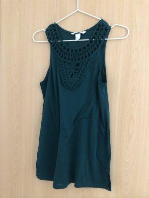 H&M Sukienka plażowa leśna zieleń