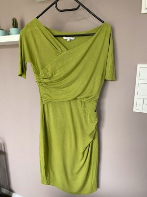Carven Bustier Dress meadow green-grass green viscose