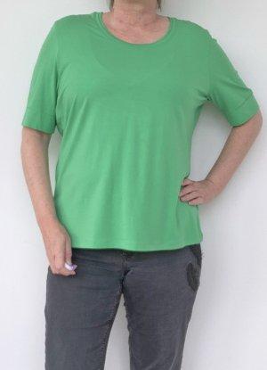 grünes kurzarm T-Shirt, Basler, Gr. 46