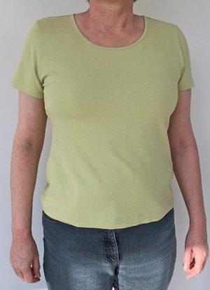 grünes kurzarm T-Shirt von Lands' End, Größe S