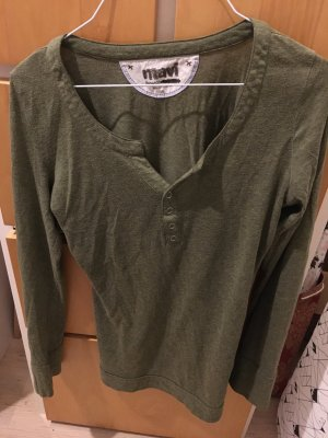 Grünes Langarmshirt von Mavi
