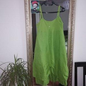 Grünes Leinen Kleid