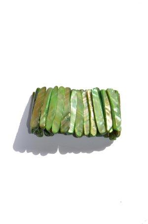 Grünes Perlmutt Armband