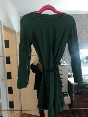 SheIn Długi sweter leśna zieleń-ciemnozielony